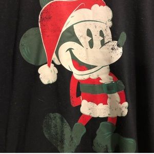 Disney World Santa Mickey tee